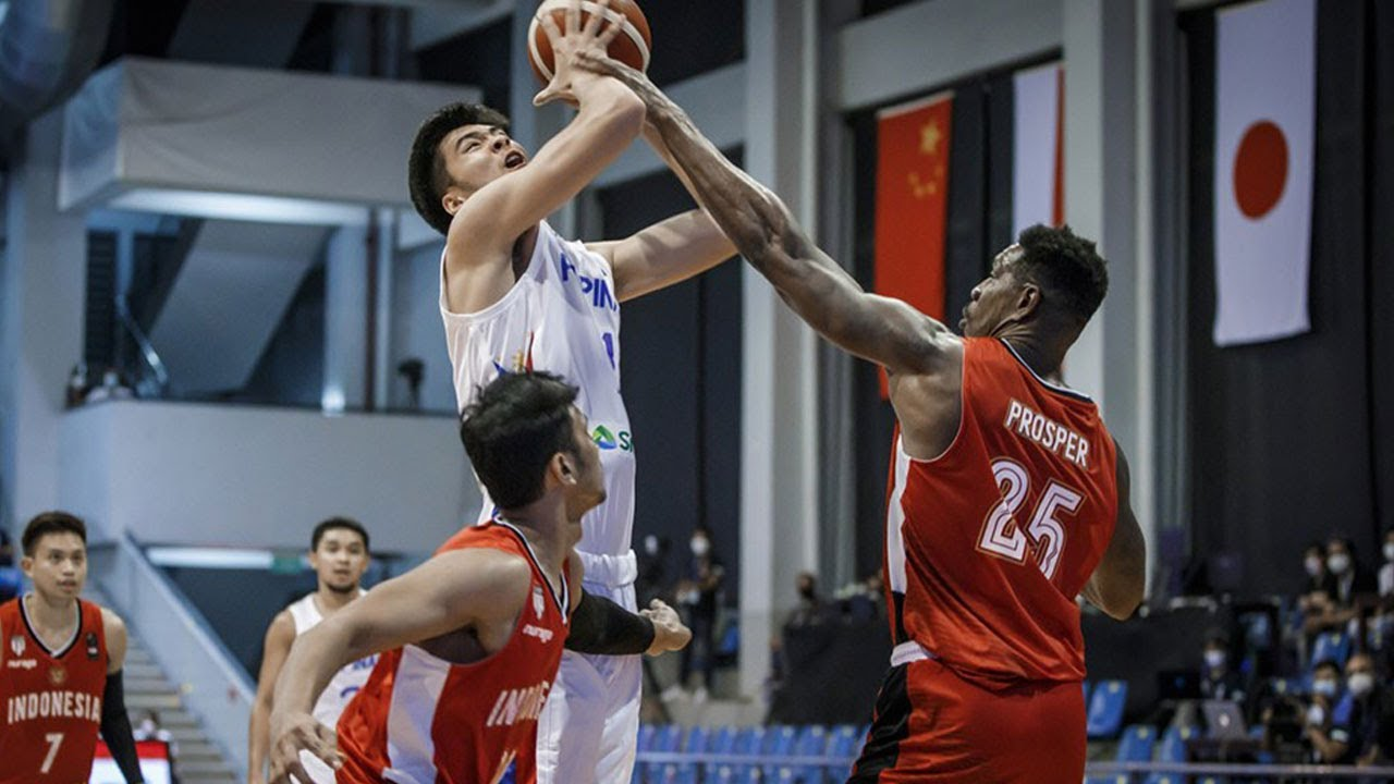 Highlights: Philippines vs Indonesia | FIBA Asia Cup 2021 Qualifiers