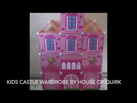 DIY Cabinet Wardrobe for Kids