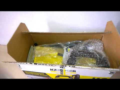 Karcher K2 BASIC Pressure Washer Unboxing and Review