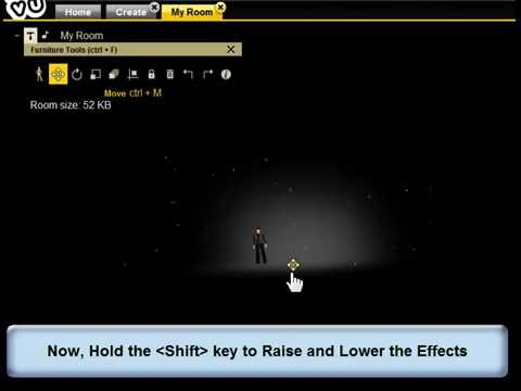 How to Place Furniture on IMVU Chat Client -  Medium Skill Required
