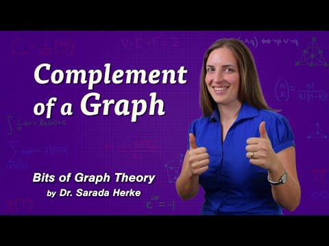 Graph Theory: 48. Complement of a Graph