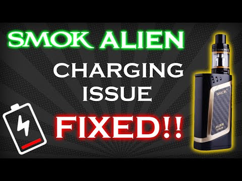 How to fix charging problem with SMOK Alien 220W