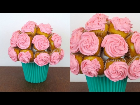 Cupcake Bouquet: Mother's Day Gift Idea!