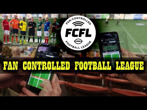 The First Fan-Controlled Professional Sports League 2018