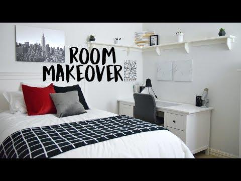 EXTREME Room Makeover! FULL BEDROOM TRANSFORMATION