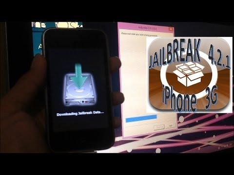 Jailbreak 4.2.1 iPhone 3G (CYDIA)