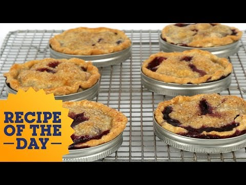 Recipe of the Day: Blueberry-Peach Lid Pies | Food Network