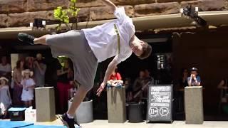 Museum of Sydney Parkour Performance - Jump Squad