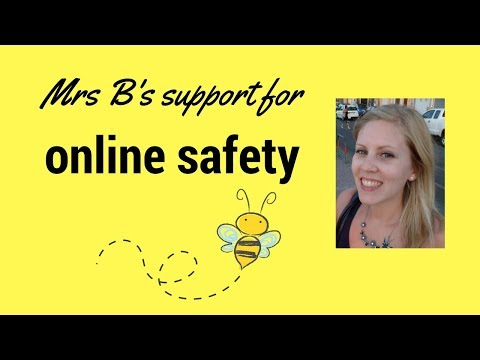 Mrs B's support for teaching online safety - parents and teachers