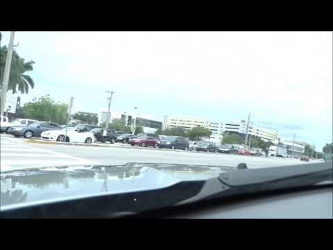 Jeep Camera Car - Take a drive from Miami to Ft Myers, Florida