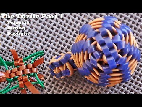 The Turtle Lanyard/Scoubidou Part 1 (making the X) -TDD