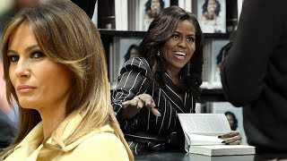 Download 'Bye Felicia' - Michelle's bitchy sniping at Melania just to sell books is a cheap, tacky shot Video