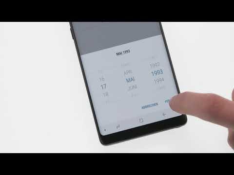 Samsung Galaxy Note8: Samsung-Account