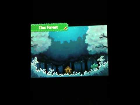 Pokemon Heart Gold/Soul Silver Celebi's Shrine