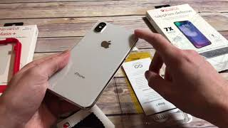ZAGG - InvisibleShield Sapphire Defense Screen Protector for iPhone X Unboxing and Review