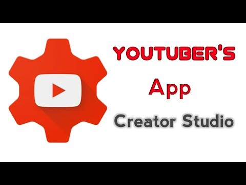 How to use Youtube Creator Studio App 2017 in Tamil | Trends Tamil