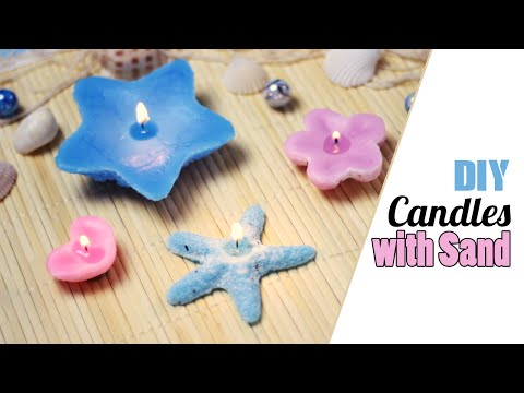 DIY: Candle Molds using Sand - Customize Molds using Sand!