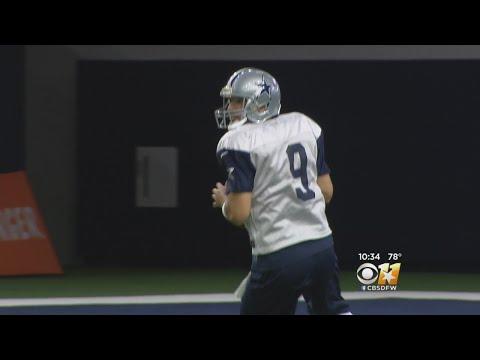 Tony Romo Returns To AT&T Stadium To Call Cowboys Game