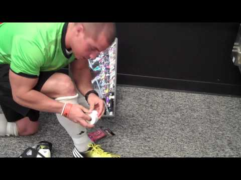 How to Tape Up Your Socks / Shin Guards