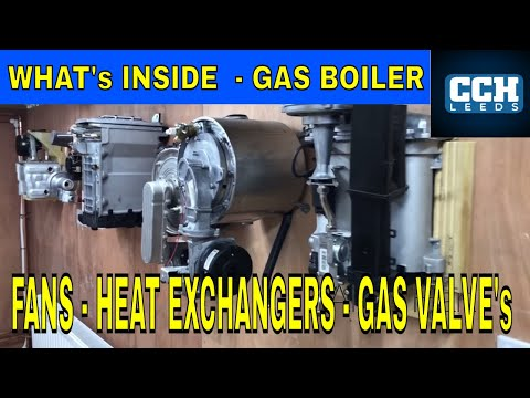 What's Inside Your Gas Boiler , Heat Exchangers Burners and Gas Valves