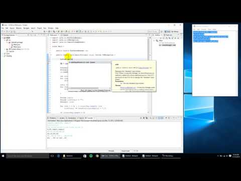Automating Console Input Via a File in Eclipse (Windows 10)