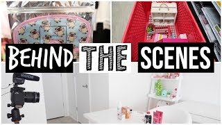 Behind The Scenes Slime Challenge & I Went Shopping!
