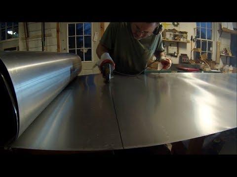 Zinc Counter Top Job With Undermount Sinks - PART 1