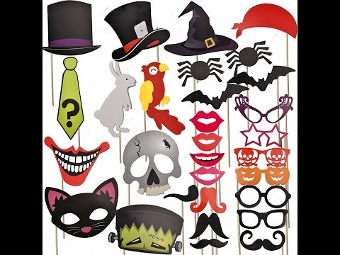 Review:  Joyin Toy 30 Pcs Halloween Party Favor Photo Booth Props