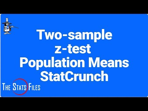 How to find z critical and rejection region for two-sample test using StatCrunch