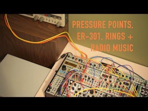 Endless Rain // PRESSURE POINTS, ER-301 + RINGS // Modular Ambient