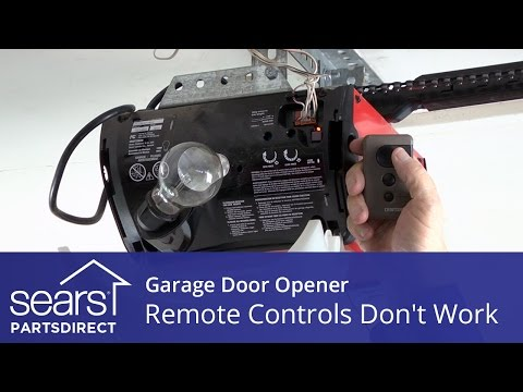 Garage Door Opener Won't Open: Opener Remotes Don't Work