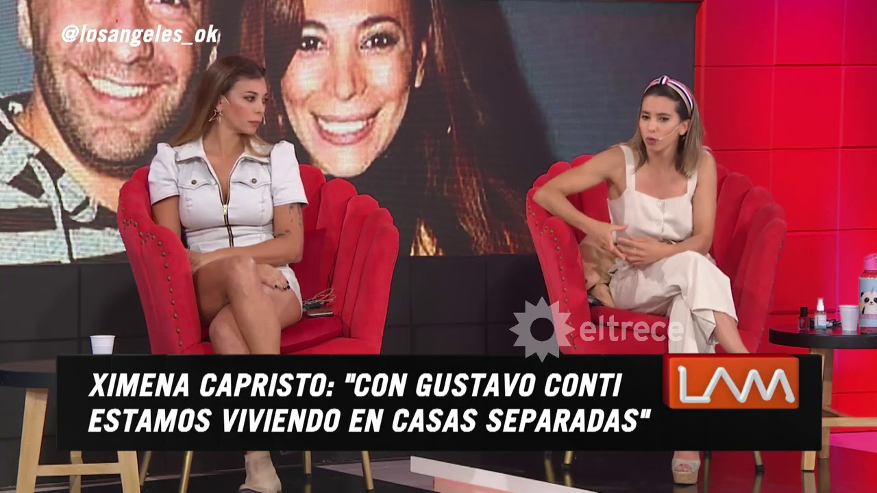 Ximena Capristo y Cinthia Fernández se reencontraron tras su feroz pelea