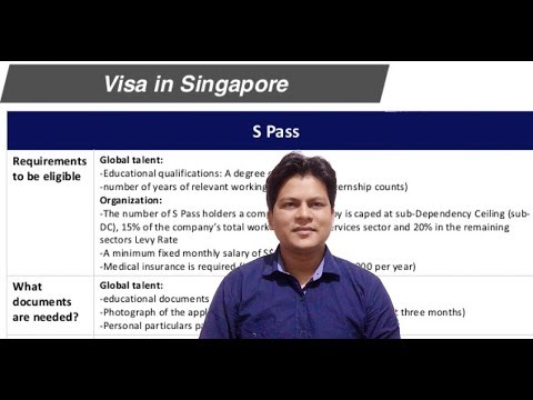 Work Visa in Singapore