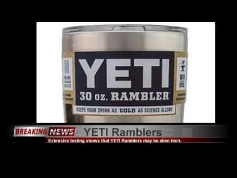 Yeti 30 oz Rambler testing with ice water in the Sun and Heat