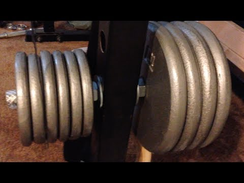 DIY Weight Plate Holders for Power Racks