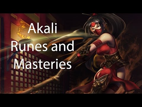 Akali Season 4 Runes and Masteries Guide