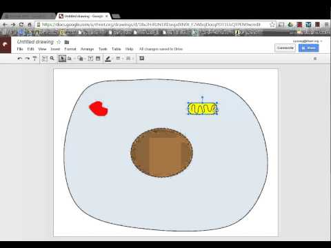Tutorial - Advanced Google Drawings - Draw a cell