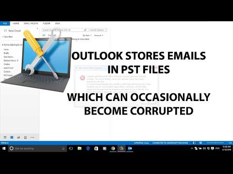 🔧Repairing PST Files In Outlook 2013💻