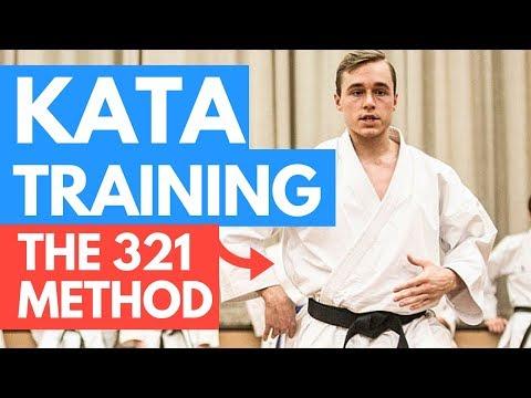 HOW TO PRACTICE KARATE KATA | The 321 Method — Jesse Enkamp
