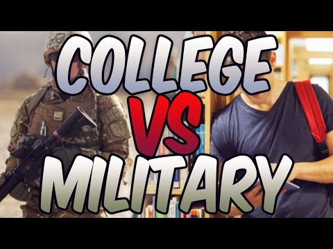 College VS Military! / United States Air Force