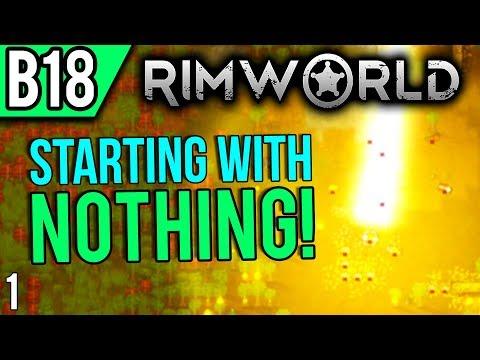 RimWorld Beta 18   Coastal Swamp (Let's Play RimWorld / Gameplay Part 1)
