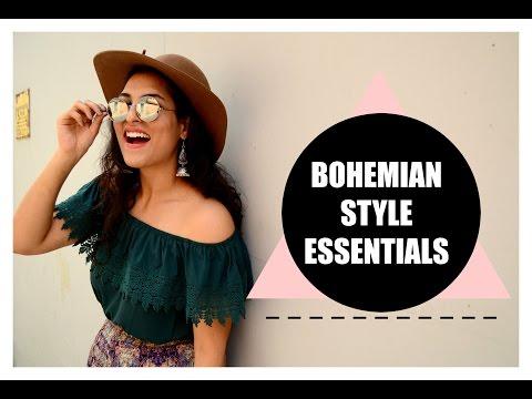 BOHO STYLE ESSENTIALS : My take on wearble bohemian style   StyleMeUpWithSakshi