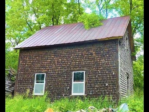 Historical Building BIGGEST TREASURE EVER Original homestead House from the 1800's Farm