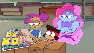 OK K.O.! Let's Be Heroes | Citrus Twisty: The Soda Genie!  | Cartoon Network