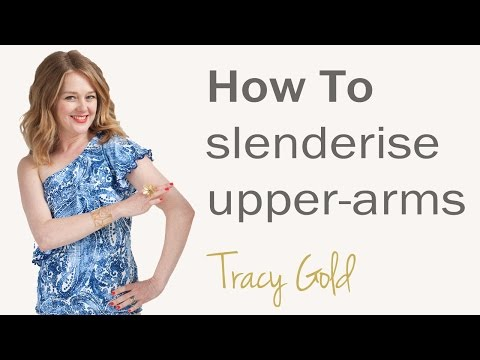 Secrets to slim dressing for over 40's - how to make your upper arms look slimmer for women over 40