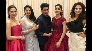 Sridevi Chilling With Pakistani Actresses Mawra Hocane ,Mahira Khan And Saba Qamar
