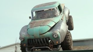 Monster Trucks - Driving On The Roof | official FIRST LOOK clip (2017) Lucas Till
