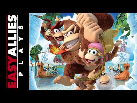 Easy Allies Plays Donkey Kong Country - We Love Tropical Freeze
