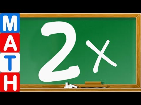 Learn Times Table - Learn the 2 Times Tables Fast