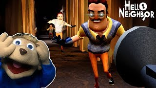 WHY DOES THE NEIGHBOR HATE CHIPMUNKS   Hello Neighbor (ACT 1 ENDING)